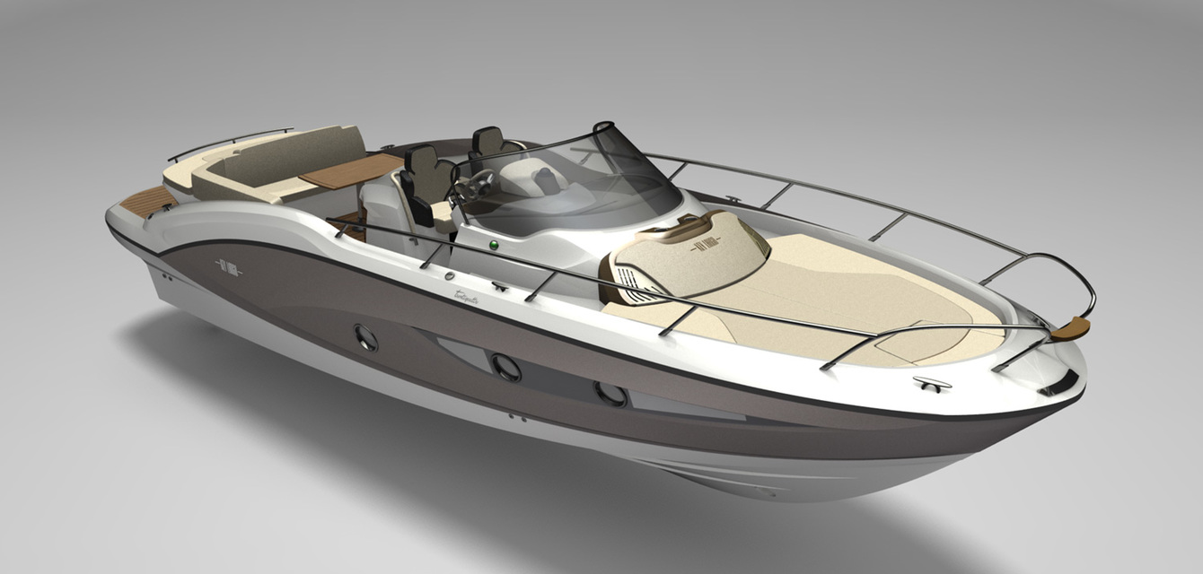 3D Sessa Marine Key Largo 34IB